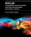 MATLAB – A FUNDAMENTAL TOOL FOR SCIENTIFIC COMPUTING AND ENGINEERING APPLICATIONS – VOLUME 2