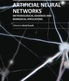 ARTIFICIAL NEURAL NETWORKS METHODOLOGICAL ADVANCES AND BIOMEDICAL APPLICATIONS_1