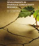 DEVELOPMENTS IN HYDRAULIC CONDUCTIVITY RESEARCH