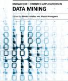 KNOWLEDGE ORIENTED APPLICATIONS IN DATA MINING
