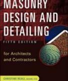 Source: MASONRY DESIGN AND DETAILING