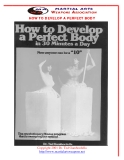 HOW TO DEVELOP A PERFECT BODY