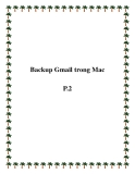 Backup Gmail trong Mac P.2