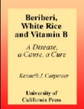 BERIBERI, WHITE RICE, AND VITAMIN B