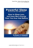 Powerful Sleep – Secrets of the Inner Sleep Clock