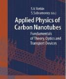 Applied Physics of Carbon Nanotubes - Fundamentals of Theory, Optics and Transport Devices