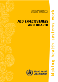 AID EFFECTIVENESS AND HEALTH