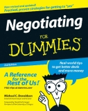 Negotiating FOR DUMmIES 2ND EDITION