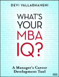 WHAT'S YOUR MBA IQ?