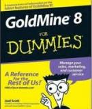 GoldMine® 8 FOR DUMmIES