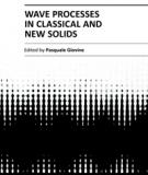 WAVE PROCESSES IN CLASSICAL AND NEW SOLIDS
