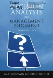 Decision Analysis for Management Judgment Third Edition