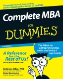 Complete MBA FOR DUMmIES 2ND EDITION