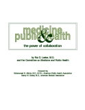 COMMITTEE ON MEDICINE AND PUBLIC HEALTH
