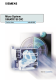 Micro System SIMATIC S7-200