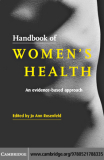 Handbook of WOMEN'S HEALTH An evidence-based approach