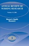 ANNUAL REVIEW OF NURSING RESEARCH Volume 19, 2001