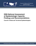 2006 National Assessment of Epidemiologic Capacity: Findings and Recommendations