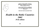 Health in the Baltic Countries  2001-10-th edition
