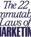 22 quy luật Marketing [P5]