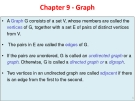 Chapter 9 - Graph•