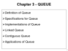 Chapter 3 - QUEUE