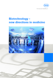 Biotechnology -  new directions in medicine
