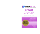 Sách: Breast Cancer (American cancer society quick facts)