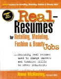 Real-Resumes for Retailing, Modeling, Fashion & Beauty Jobs... including real resumes used to change careers and transfer skills to other industries