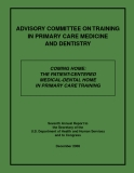 ADVISORY COMMITTEE ON TRAININ IN PRIMARY CARE MEDICINE AND DENTISTRY
