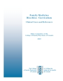 Family Medicine  Bioethics  Curriculum: Clinical Cases and References