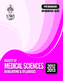 Faculty Of Medical Sciences Regulations & Syllabuses