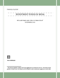 INVESTMENT FUNDS IN MENA: WILLIAM MAKO AND DIEGO SOURROUILLE* DECEMBER 2010