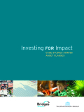 Investing for Impact: CASE STUDIES ACROSS ASSET CLASSES