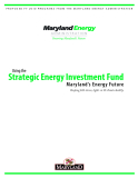 Using the Strategic Energy Investment Fund