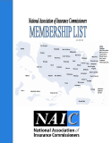 National Association Of Insurance Commissiners Membership List