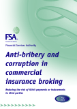 Anti-bribery and corruption in commercial insurance broking