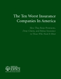 The Ten Worst Insurance Companies In America