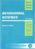 Board Review SeriesBehavioral Science3rd edition