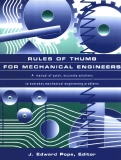 rules of thumb for mechanical engineers 2012