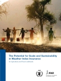 The Potential for Scale and Sustainability  in Weather Index Insurance