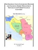 The European Union Integration Process And Insurance Market Development: The Case Of The Pormer Yugoslav Countries