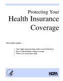 Protecting Your Health Insurance Coverage