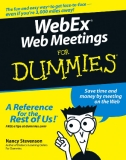 WebEx Web Meetings for Dummies