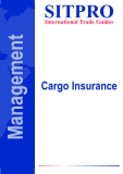 SITPRO International Trade Guides: Cargo Insurance