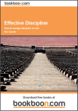 Effective Discipline How to manage discipline at work