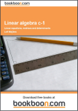 Linear Algebra Examples c-1 Linear Equations, Matrices and Determinants