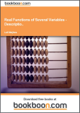 Real Functions of Several Variables - Examples of Description of Surfaces Partial Derivatives, Gradient, Directional Derivative and Taylor's Formula Calculus 2c-2