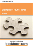 Examples of Fourier series Calculus 4c-1