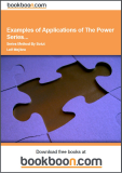 Examples of Applications of The Power Series Method By Solution of Differential Equations with Polynomial Coefficients Calculus 3c-4